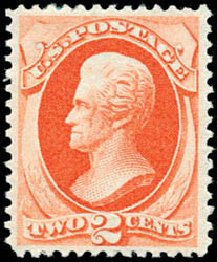 Prices of US Stamp Scott Cat. #178 - 2c 1875 Jackson Continental. Schuyler J. Rumsey Philatelic Auctions, Apr 2015, Sale 60, Lot 2174