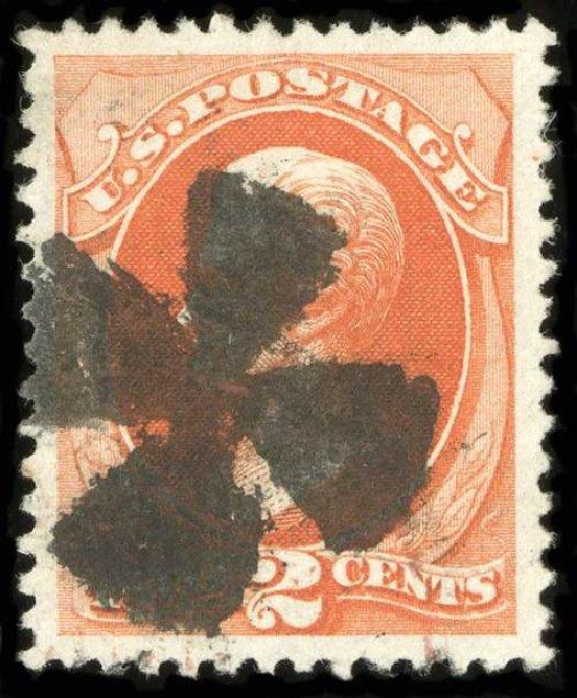 Value of US Stamp Scott Cat. # 178 - 2c 1875 Jackson Continental. Spink Shreves Galleries, Jul 2015, Sale 151, Lot 155