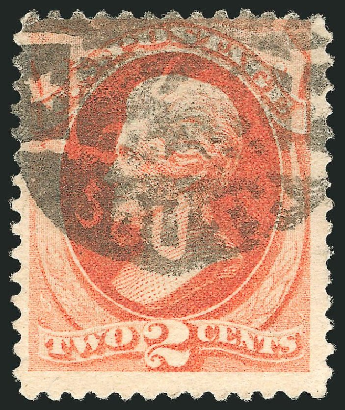 Costs of US Stamp Scott Catalogue # 178: 1875 2c Jackson Continental. Robert Siegel Auction Galleries, Nov 2014, Sale 1084, Lot 3443