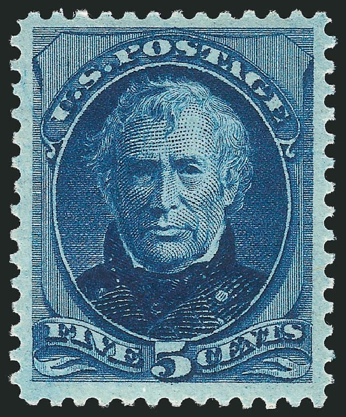 Values of US Stamps Scott Catalog 179 - 1875 5c Taylor Continental. Robert Siegel Auction Galleries, Dec 2014, Sale 1090, Lot 1339