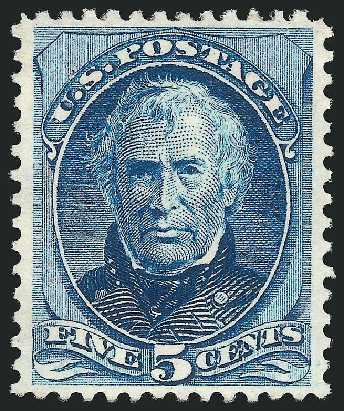 US Stamp Price Scott Catalogue #179 - 5c 1875 Taylor Continental. Robert Siegel Auction Galleries, Apr 2015, Sale 1096, Lot 311