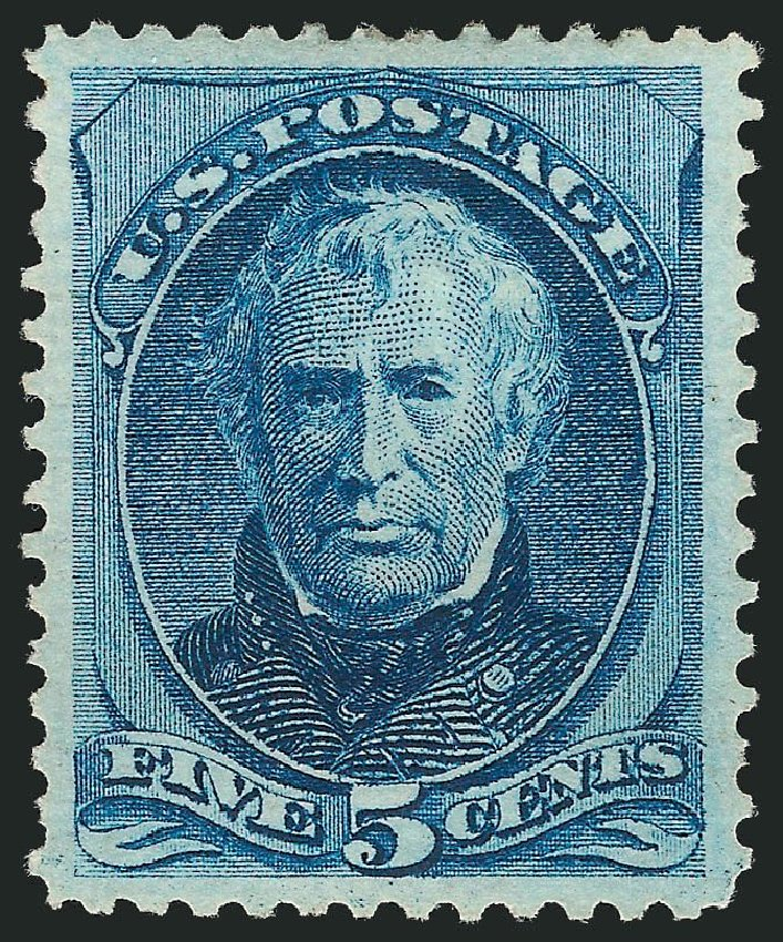 US Stamps Value Scott Catalogue # 179 - 1875 5c Taylor Continental. Robert Siegel Auction Galleries, May 2013, Sale 1044, Lot 154