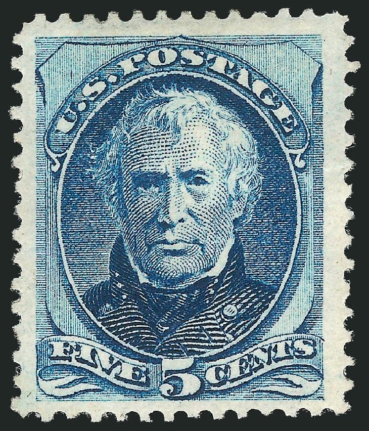 Value of US Stamps Scott Catalog #179: 1875 5c Taylor Continental. Robert Siegel Auction Galleries, Nov 2013, Sale 1057, Lot 764