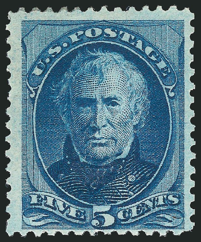US Stamps Values Scott Catalogue #179 - 5c 1875 Taylor Continental. Robert Siegel Auction Galleries, Nov 2013, Sale 1057, Lot 765