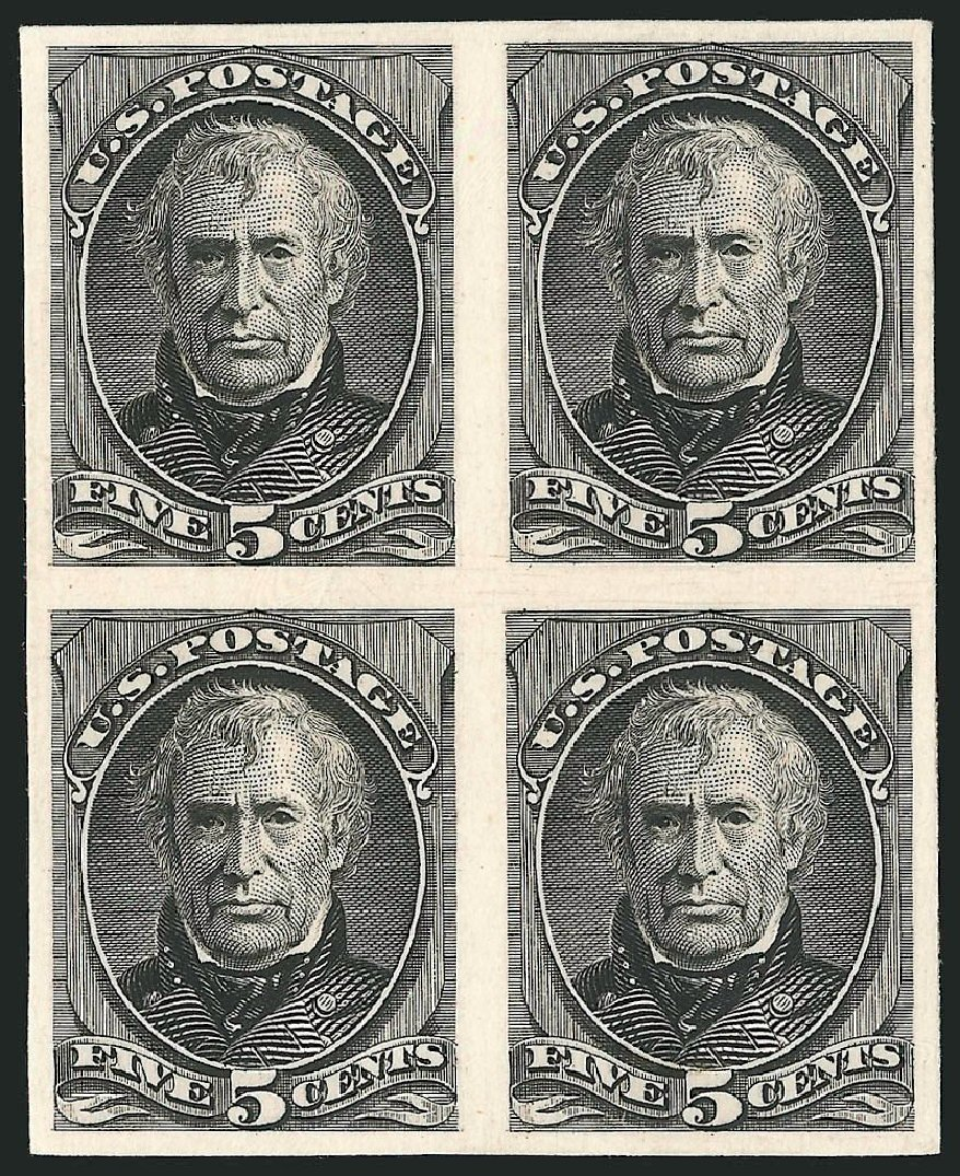 US Stamp Values Scott Catalogue #179: 1875 5c Taylor Continental. Robert Siegel Auction Galleries, Oct 2014, Sale 1082, Lot 125