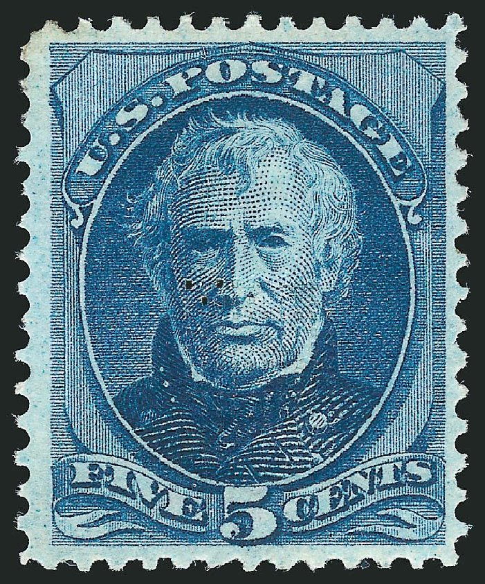 Value of US Stamp Scott Catalog 179 - 5c 1875 Taylor Continental. Robert Siegel Auction Galleries, Oct 2014, Sale 1082, Lot 393