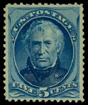 Cost of US Stamps Scott Cat. #179 - 5c 1875 Taylor Continental. Daniel Kelleher Auctions, May 2014, Sale 653, Lot 2126