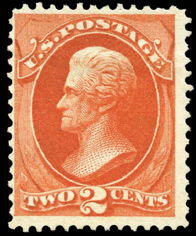 Price of US Stamps Scott Catalogue #180: 2c 1875 Jackson Special Printing. Matthew Bennett International, Mar 2011, Sale 336, Lot 1208