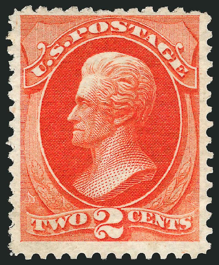 US Stamps Price Scott Catalog # 180 - 2c 1875 Jackson Special Printing. Robert Siegel Auction Galleries, Oct 2008, Sale 963, Lot 791