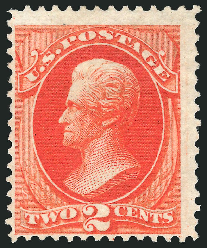 Cost of US Stamps Scott Cat. #180 - 2c 1875 Jackson Special Printing. Robert Siegel Auction Galleries, Dec 2012, Sale 1036, Lot 125
