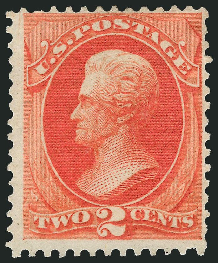 Prices of US Stamps Scott Catalogue # 180: 1875 2c Jackson Special Printing. Robert Siegel Auction Galleries, Nov 2013, Sale 1057, Lot 763