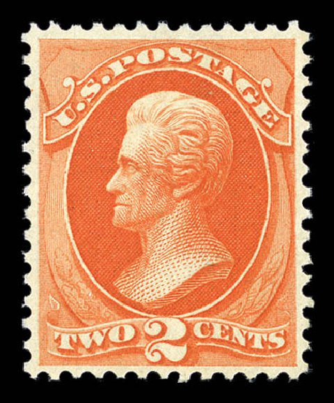 Cost of US Stamp Scott Catalogue # 180: 1875 2c Jackson Special Printing. Matthew Bennett International, Sep 2012, Sale 345, Lot 216