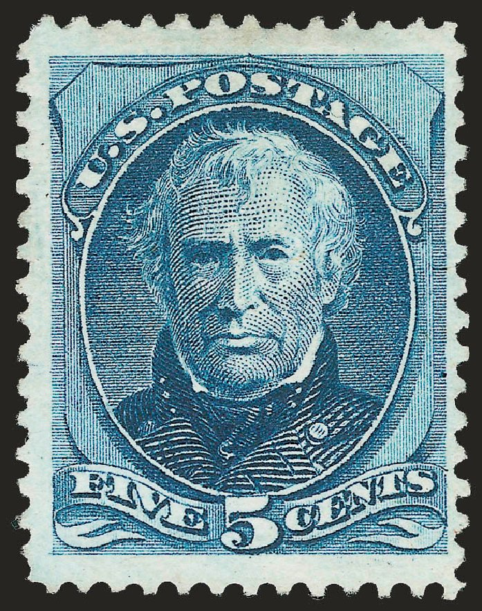 US Stamps Values Scott Cat. 181 - 1875 5c Taylor Special Printing. Robert Siegel Auction Galleries, Apr 2009, Sale 972, Lot 3180