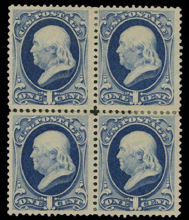 US Stamps Prices Scott Catalogue 182: 1c 1879 Franklin. H.R. Harmer, May 2014, Sale 3005, Lot 1137