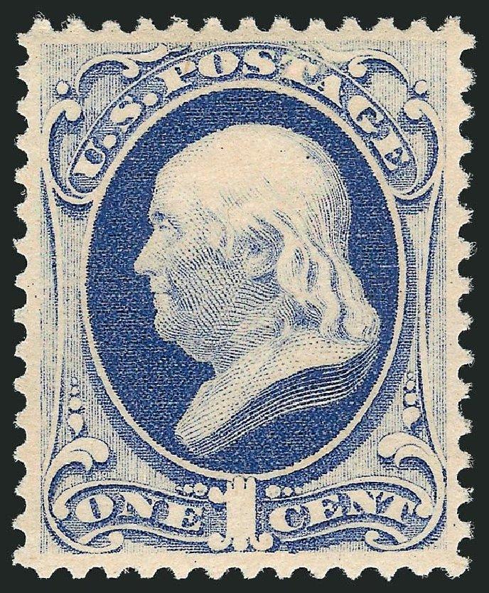 Values Of Us Stamps Scott Cat 182 1c 1879 Franklin
