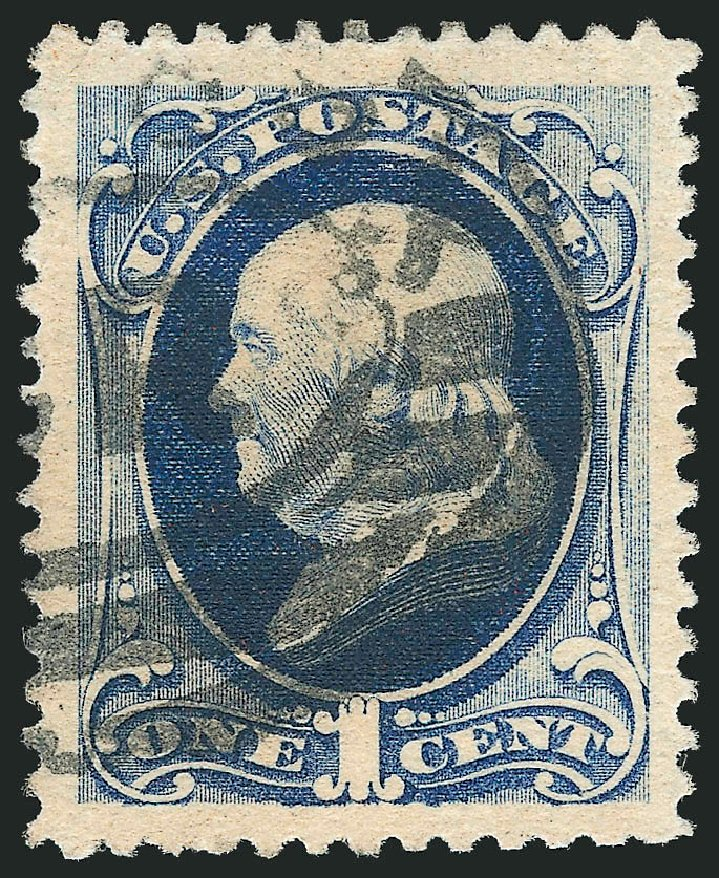 Costs Of Us Stamp Scott 182 1879 1c Franklin