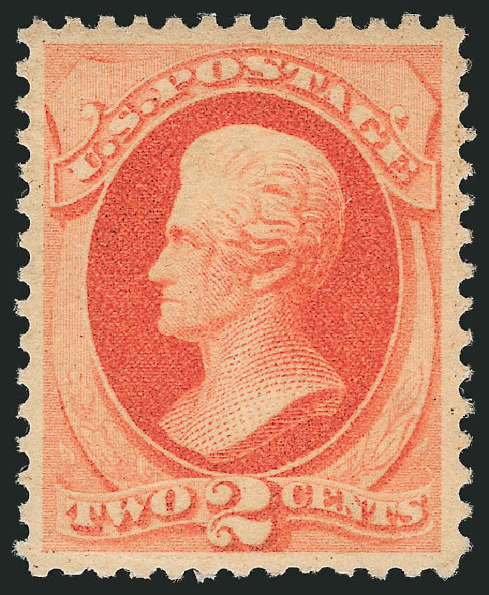 US Stamps Value Scott Catalogue #183 - 2c 1879 Jackson. Robert Siegel Auction Galleries, Feb 2015, Sale 1092, Lot 1137