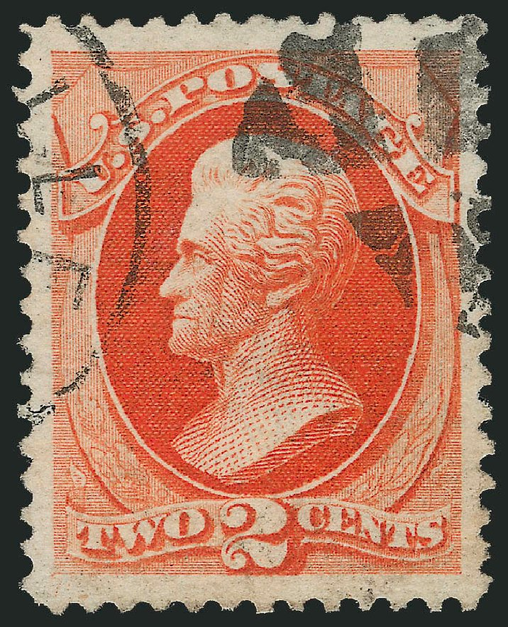 Cost of US Stamp Scott #183: 2c 1879 Jackson. Robert Siegel Auction Galleries, Feb 2015, Sale 1092, Lot 1138