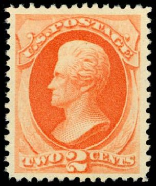 US Stamp Prices Scott Cat. #183 - 2c 1879 Jackson. Daniel Kelleher Auctions, Sep 2014, Sale 655, Lot 290