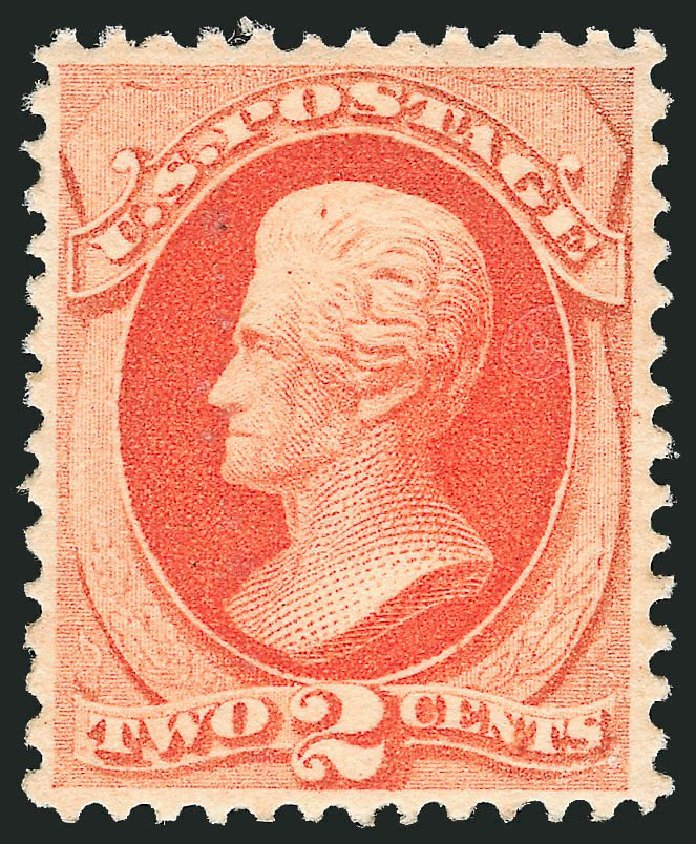US Stamps Value Scott #183 - 2c 1879 Jackson. Robert Siegel Auction Galleries, Dec 2014, Sale 1090, Lot 1341
