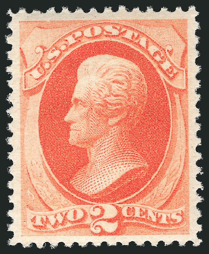 US Stamp Value Scott Catalog # 183 - 2c 1879 Jackson. Robert Siegel Auction Galleries, Jul 2015, Sale 1107, Lot 281