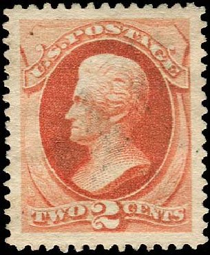 US Stamp Prices Scott Cat. #183 - 1879 2c Jackson. Regency-Superior, Nov 2014, Sale 108, Lot 364