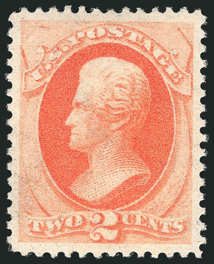 US Stamp Prices Scott Catalogue 183: 2c 1879 Jackson. Robert Siegel Auction Galleries, Sep 2014, Sale 1078, Lot 314