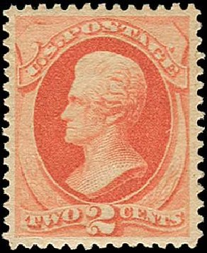 Cost of US Stamp Scott Catalog #183: 2c 1879 Jackson. Regency-Superior, Nov 2014, Sale 108, Lot 362