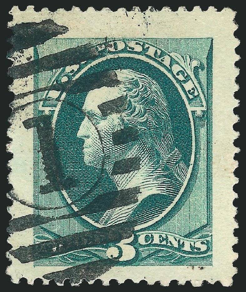 US Stamp Values Scott Cat. 184 - 3c 1879 Washington. Robert Siegel Auction Galleries, Mar 2014, Sale 1067, Lot 1171