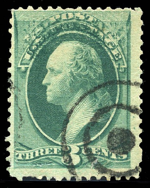 US Stamps Values Scott 184 - 3c 1879 Washington. Matthew Bennett International, Feb 2015, Sale 351, Lot 133