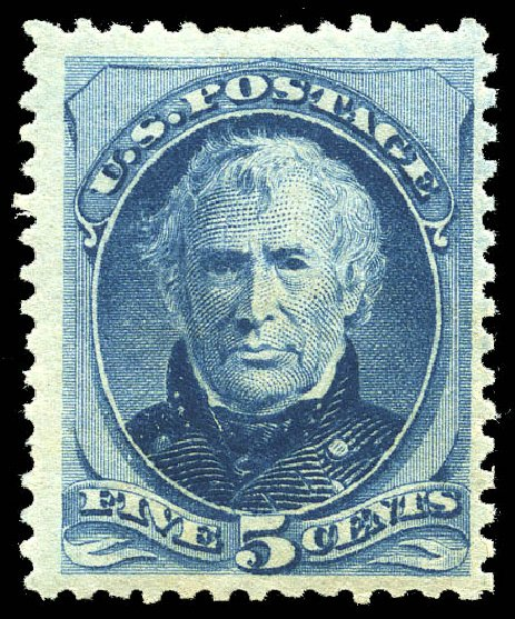 Price of US Stamps Scott Catalogue 185: 1879 5c Taylor. Matthew Bennett International, May 2014, Sale 350, Lot 299