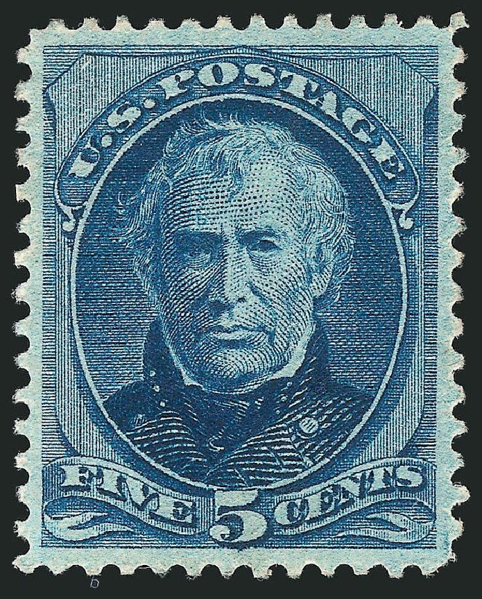US Stamps Price Scott Cat. # 185 - 1879 5c Taylor. Robert Siegel Auction Galleries, Sep 2014, Sale 1078, Lot 315