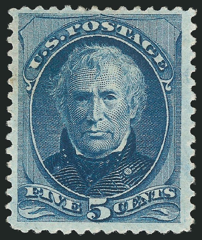 Prices of US Stamp Scott Catalogue # 185: 1879 5c Taylor. Robert Siegel Auction Galleries, Dec 2014, Sale 1090, Lot 1342