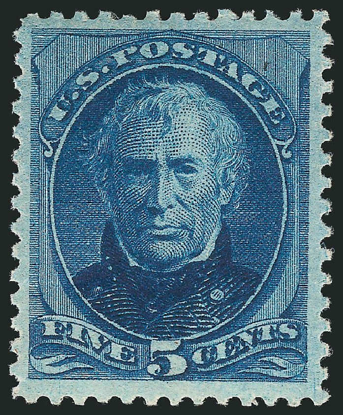 US Stamps Price Scott # 185: 1879 5c Taylor. Robert Siegel Auction Galleries, Apr 2015, Sale 1096, Lot 332