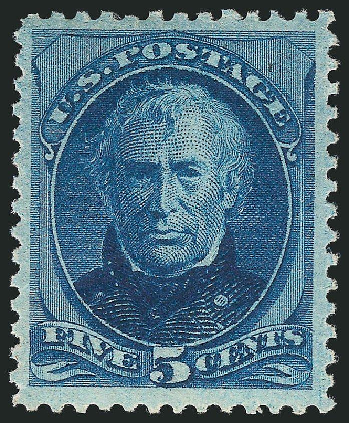 US Stamps Price Scott # 185: 1879 5c Taylor. Robert Siegel Auction Galleries, Apr 2015, Sale 1096, Lot 332