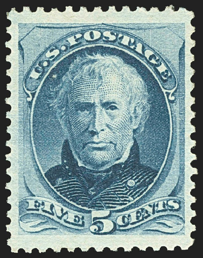 Price of US Stamps Scott #185 - 5c 1879 Taylor. Robert Siegel Auction Galleries, Jul 2015, Sale 1107, Lot 282