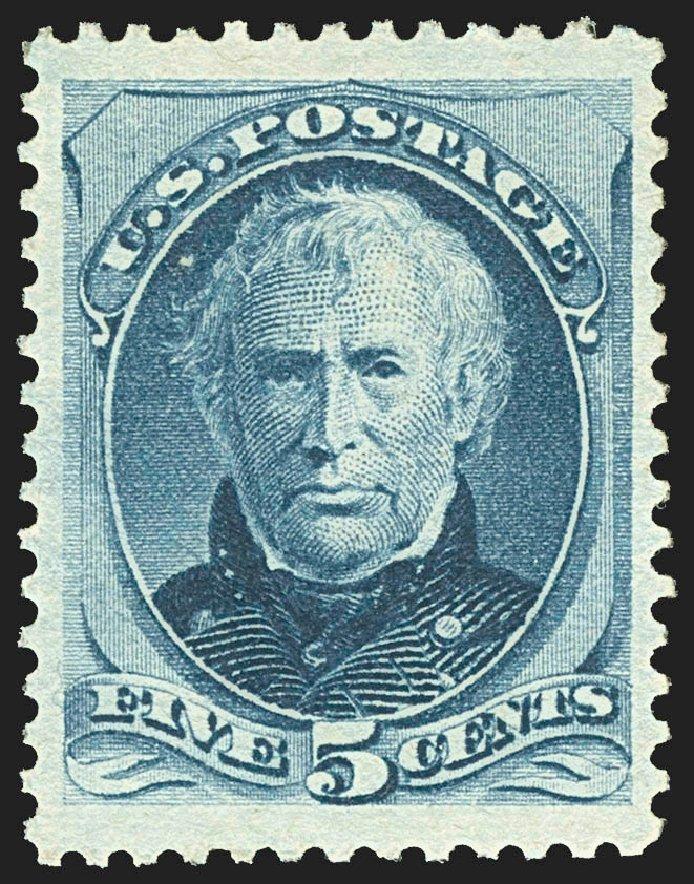 Price of US Stamps Scott #185 - 5c 1879 Taylor. Robert Siegel Auction Galleries, Jul 2015, Sale 1107, Lot 282