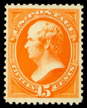 Costs of US Stamps Scott Catalog 189 - 1879 15c Webster. Daniel Kelleher Auctions, May 2015, Sale 669, Lot 2669