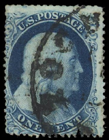 Cost Of Us Stamp Scott Cat 19 1c 1857 Franklin