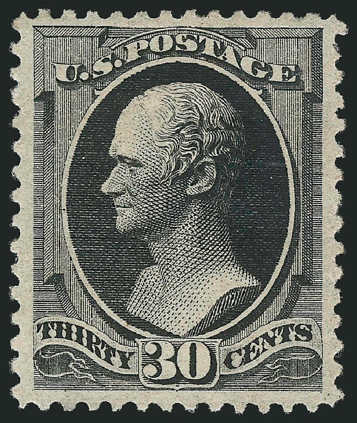 Values of US Stamps Scott Catalog 190 - 1879 30c Hamilton. Robert Siegel Auction Galleries, Apr 2015, Sale 1096, Lot 340