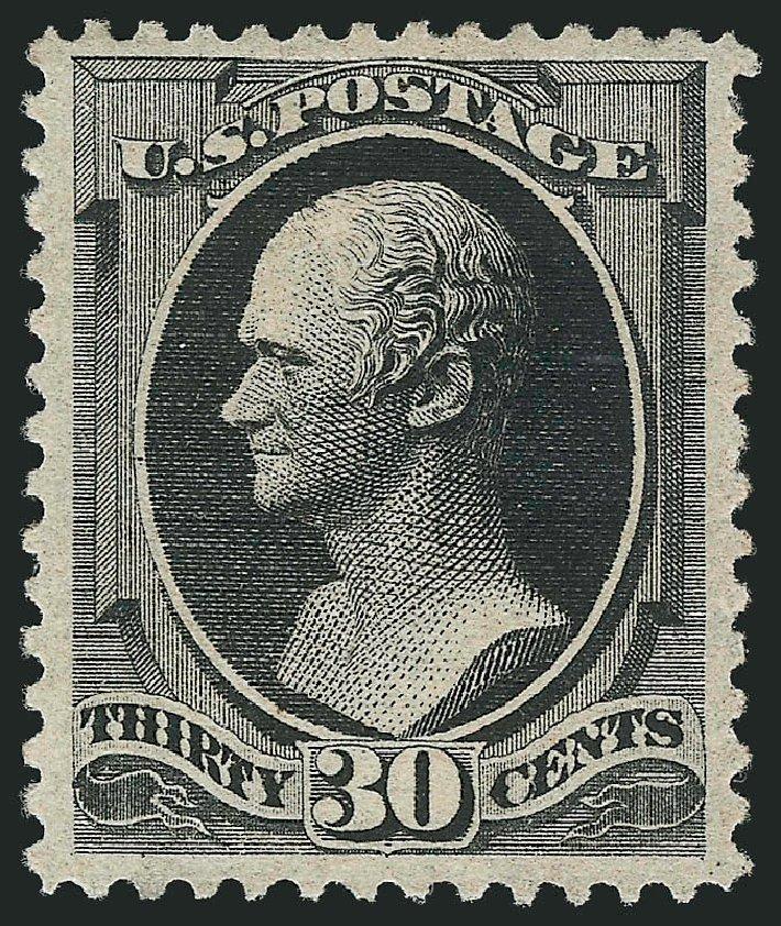 Values of US Stamps Scott Catalog 190 - 1879 30c Hamilton. Robert Siegel Auction Galleries, Apr 2015, Sale 1096, Lot 340