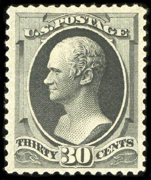 Price of US Stamps Scott Catalog # 190: 30c 1879 Hamilton. Spink Shreves Galleries, Jul 2015, Sale 151, Lot 162