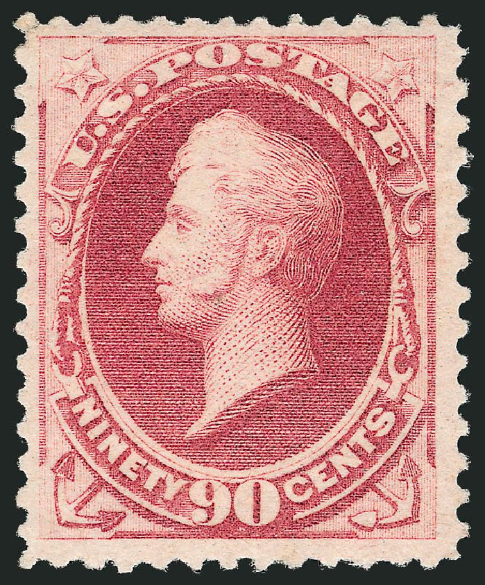 Prices of US Stamp Scott Catalogue # 191: 90c 1879 Perry. Robert Siegel Auction Galleries, Jun 2015, Sale 1100, Lot 41