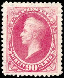 Values of US Stamp Scott Catalogue #191: 1879 90c Perry. Schuyler J. Rumsey Philatelic Auctions, Apr 2015, Sale 60, Lot 2184