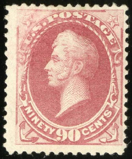 Prices of US Stamp Scott Catalog # 191 - 90c 1879 Perry. Spink Shreves Galleries, Jul 2015, Sale 151, Lot 164