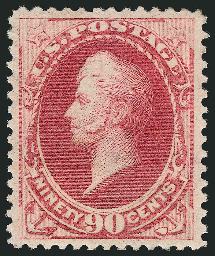Cost of US Stamp Scott Cat. #191 - 90c 1879 Perry. Robert Siegel Auction Galleries, Apr 2015, Sale 1096, Lot 342