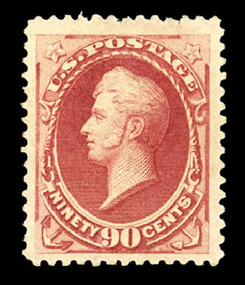 Prices of US Stamp Scott #191 - 1879 90c Perry. Cherrystone Auctions, Jul 2015, Sale 201507, Lot 2076