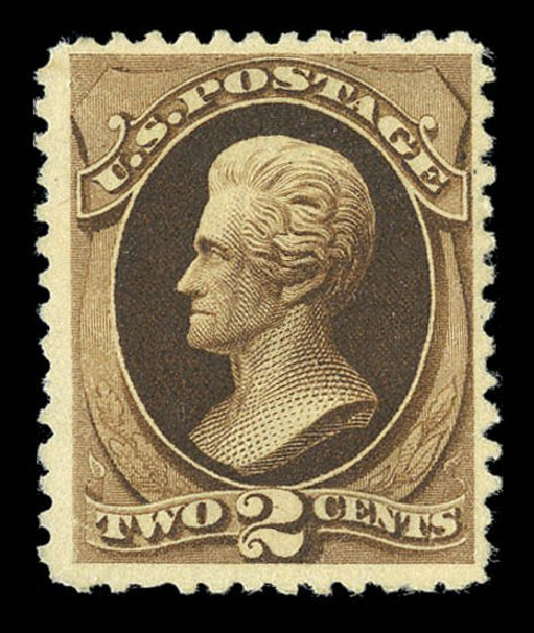 US Stamps Prices Scott Cat. 193 - 1880 2c Jackson Special Printing. Matthew Bennett International, Sep 2012, Sale 345, Lot 227
