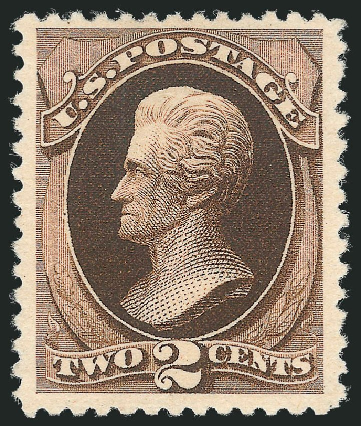 Costs of US Stamps Scott Catalogue # 193: 2c 1880 Jackson Special Printing. Robert Siegel Auction Galleries, Dec 2012, Sale 1036, Lot 127