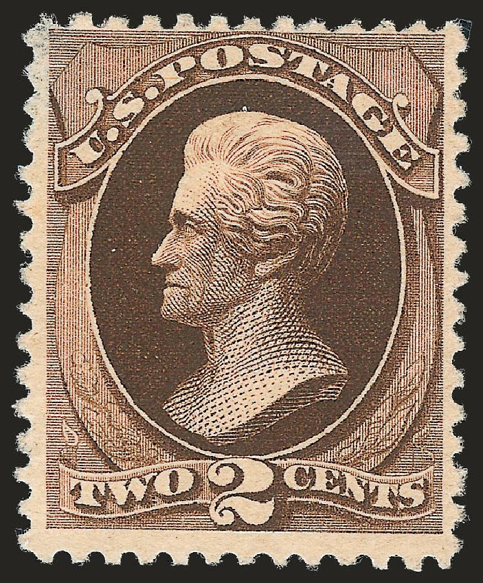 US Stamps Prices Scott #193: 1880 2c Jackson Special Printing. Robert Siegel Auction Galleries, Sep 2009, Sale 976, Lot 1618